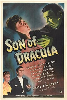 <i>Son of Dracula</i> (1943 film) 1943 film by Robert Siodmak