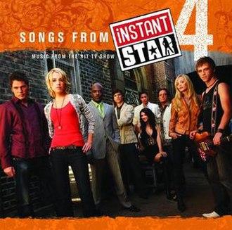 Instant Star soundtracks - Image: Songsfrominstantstar 4