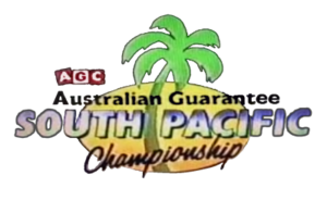 South Pacific Championship - Image: South Pacific Championship AGC rugby logo