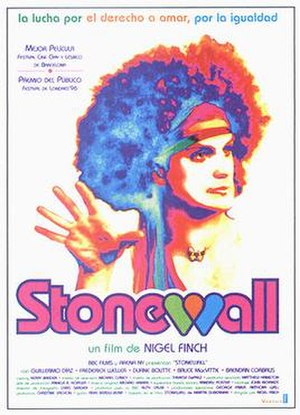 Stonewall (1995 film) - Theatrical release poster