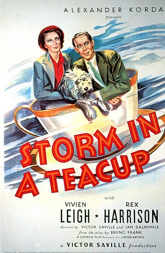 Storm in a Teacup (film) - Theatrical poster
