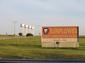 De Soto, Kansas - Sunflower Army Ammunition Plant, located in De Soto (2005)