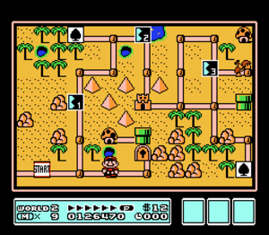 Super Mario Bros. 3 - Super Mario Bros. 3 is credited for popularizing the use of overworld maps in the Mario series.