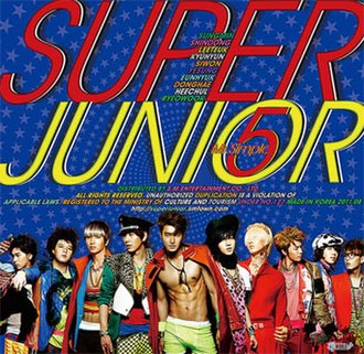 Mr. Simple (song) - Image: Superjunior mrsimple