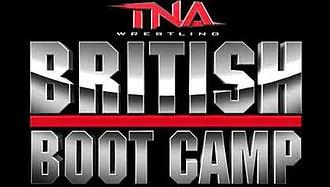 TNA British Boot Camp - Image: TNA British Boot Camp television programme logo