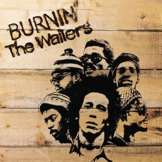 Burnin' (The Wailers album) - Image: The Wailers Burnin'