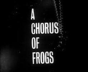 A Chorus of Frogs - Image: The Avengers A Chorus of Frogs