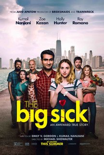 <i>The Big Sick</i> 2017 film by Michael Showalter