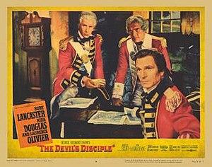 The Devil's Disciple (1959 film) - Original window card