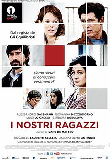 <i>The Dinner</i> (2014 film) 2014 film by Ivano De Matteo