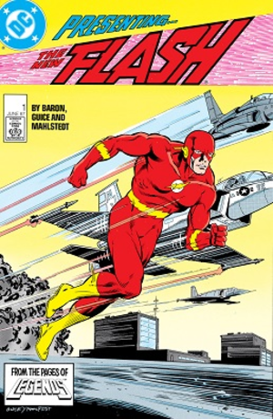 The Flash (comic book) - Image: The Flash vol.2 1 (June 1987)