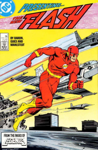 Wally West - Image: The Flash vol.2 1 (June 1987)