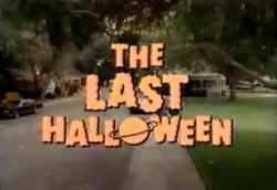 The Last Halloween - Wikipedia