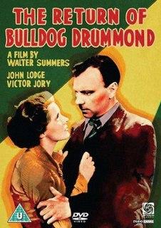 <i>The Return of Bulldog Drummond</i>