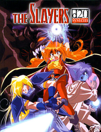 The Slayers d20 - The Slayers d20 cover art