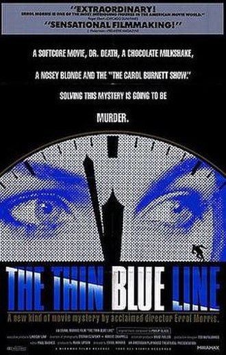 The Thin Blue Line (1988 film) - Theatrical poster