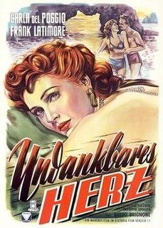 <i>The Ungrateful Heart</i> 1951 film