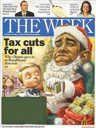 The Week - Cover of an issue from December 2010 (United States edition)