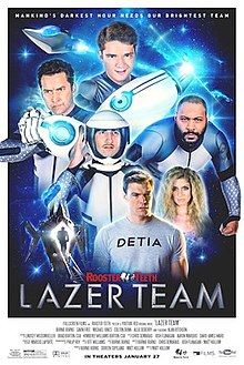 Lazer Team full movie (2015)