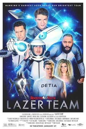 Lazer Team - Theatrical release poster