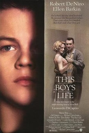 This Boy's Life (film) - Theatrical release poster