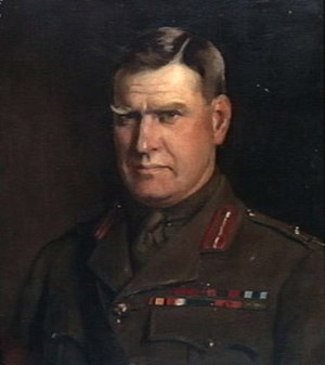 William Glasgow (general) - Portrait of Major General Sir William Glasgow
