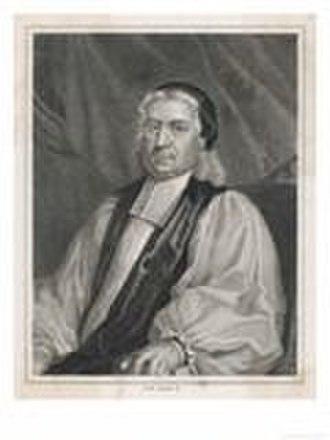 Thomas Wilson (bishop) - Thomas Wilson, engraving by John Simon, after Richard Phillips.
