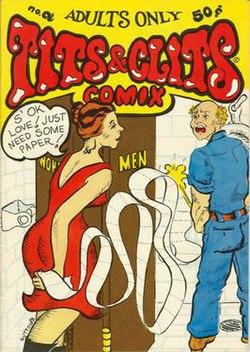 comic Tits clits