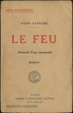 <i>Under Fire</i> (Barbusse novel) book