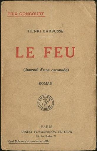 Under Fire (Barbusse novel) - Image: Under Fire (Barbusse novel)