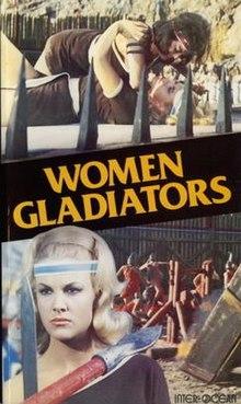 """VHS-kovro de la filmo- """"Woman Gladiators"""".jpg"""