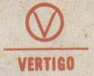 Vertigo Records - Alternate logo used in Canada.