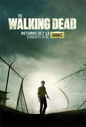 The Walking Dead (season 4) - Promotional poster and home media cover art