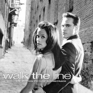 Walk the Line (soundtrack) - Image: Walkthelinecd