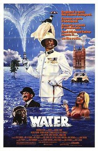 Water (1985 film) - Theatrical release poster