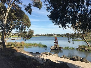 Waterways, Victoria Suburb of Melbourne, Victoria, Australia