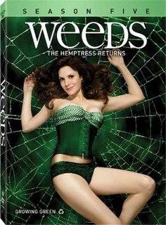 <i>Weeds</i> (season 5) Season of television series