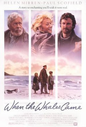 When the Whales Came - Theatrical release poster