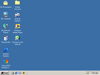 Windows Me Personal computer operating system by Microsoft released in 2000