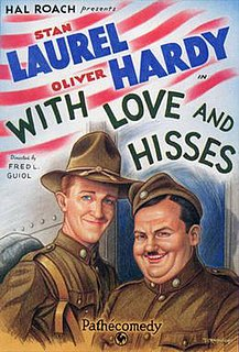 <i>With Love and Hisses</i> 1927 film by Fred Guiol