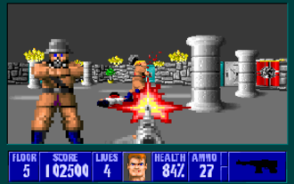 First-person shooter - Although it was not the earliest shooter game with a first-person perspective, Wolfenstein 3D is often credited with establishing the first-person shooter genre.