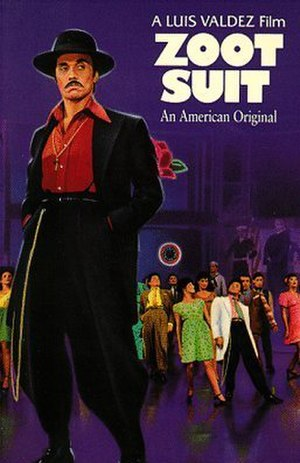 Zoot Suit (film) - Theatrical release poster