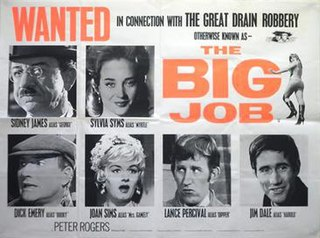 <i>The Big Job</i> (film) 1965 film by Gerald Thomas