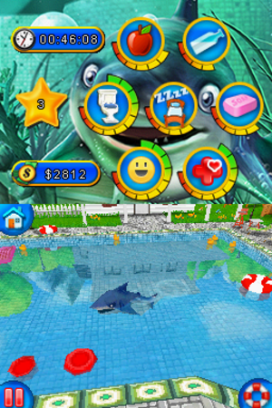 101 Shark Pets - Screenshot of 101 Shark Pets presenting the gameplay.