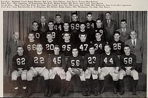 1945 Illinois Fighting Illini football team - Image: 1945 Illinois Fighting Illini football team