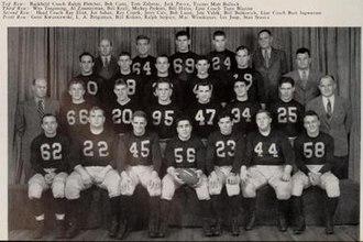 1945 Illinois Fighting Illini football team - Image: 1945 Illinois Fighting Illini football team