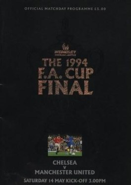 1994 FA Cup Final programme