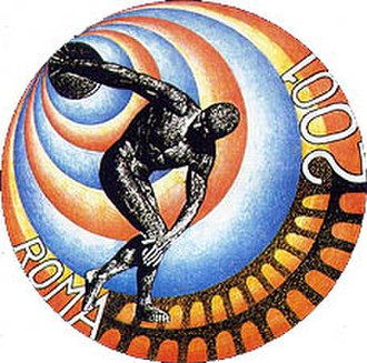 2001 Summer Deaflympics - Image: 2001 Summer Deaflympics logo