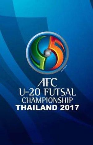 2017 AFC U-20 Futsal Championship - Image: 2017 AFC U 20 Futsal Championship logo