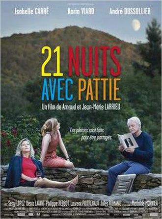 21 Nights with Pattie - Film poster